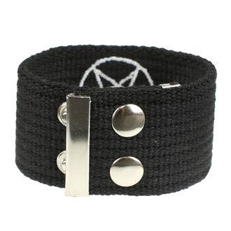 Armband Pentagramm, BLACK & METAL