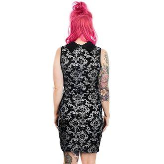 Damen Kleid TOO FAST - BAROCK VIKTORIANISCH GOTISCH PENTAGRAMM MITTWOCH ADDAMS COL LAR, TOO FAST