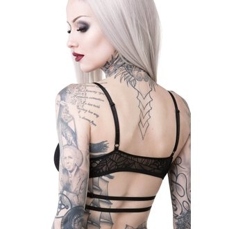 Damen BH KILLSTAR - WEEPING WIDOW - SCHWARZ, KILLSTAR