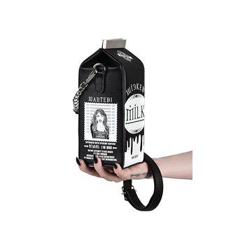 Handtasche KILLSTAR - WICKED MILK - SCHWARZ, KILLSTAR