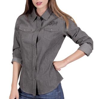 Damen Bluse Hemd HYRAW - CHEMISE SKULLZ, HYRAW