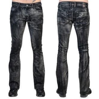 Herren Hose (Jeans) WORNSTAR - Hellraiser Smoke - Schwarz, WORNSTAR