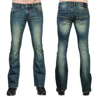 Herren Hose (Jeans) WORNSTAR - Hellraiser - Jahrgang Blau, WORNSTAR