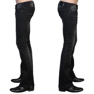 Herren Hose (Jeans) WORNSTAR - Hellraiser - Jahrgang Schwarz, WORNSTAR