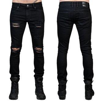 Herren Hose (Jeans) WORNSTAR - Rampager Shredded - Schwarz, WORNSTAR