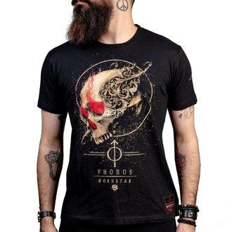 Herren T-Shirt Hardcore  - Phobos - WORNSTAR