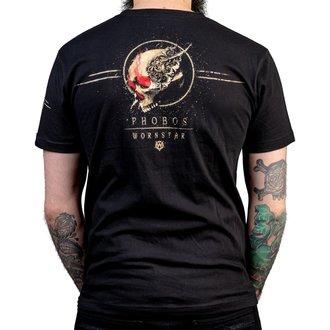 Herren T-Shirt Hardcore  - Phobos - WORNSTAR, WORNSTAR