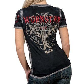 Damen T-Shirt Hardcore - Believe - WORNSTAR, WORNSTAR
