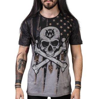 Herren T-Shirt Hardcore - Black Flag - WORNSTAR, WORNSTAR