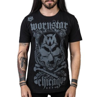 Herren T-Shirt Hardcore - Chicago Core - WORNSTAR, WORNSTAR