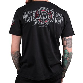Herren T-Shirt Hardcore - Electric - WORNSTAR, WORNSTAR