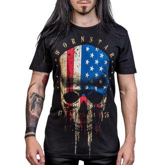 Herren T-Shirt Hardcore - Americoma - WORNSTAR, WORNSTAR