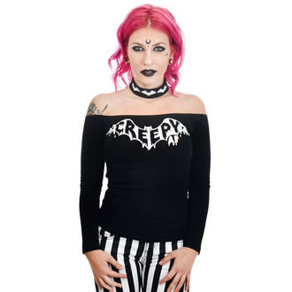 Damen T-Shirt Gothoc Punk - TABITHA CHOKER - TOO FAST, TOO FAST