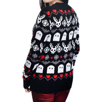 Damen Pullover TOO FAST - HAVE YOURSELF CREEPY LIL CHRISTMAS UGLY CHRISTMAS, TOO FAST