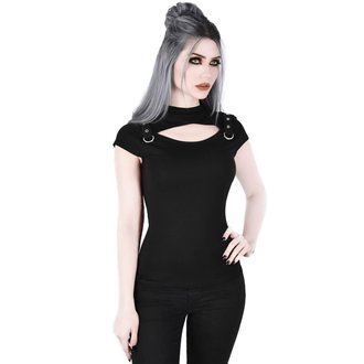 Damen T-Shirt - Xara Keyhole - KILLSTAR, KILLSTAR