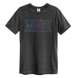 Herren T-Shirt Metal Muse - Rainbow - AMPLIFIED, AMPLIFIED, Muse