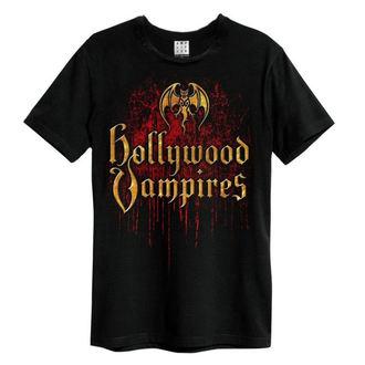 Herren T-Shirt Metal Hollywood Vampires - Bat Blood Logo - AMPLIFIED, AMPLIFIED, Hollywood Vampires