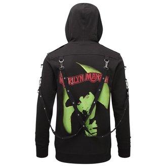 Kapuzenpullover Unisex KILLSTAR - Marilyn Manson - Smells Like Manson - Schwarz, KILLSTAR, Marilyn Manson