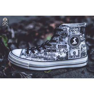 Unisex High Top Sneakers Suicidal Tendencies - CONVERSE, CONVERSE, Suicidal Tendencies