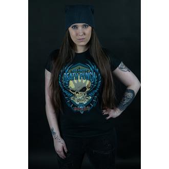 Damen T-Shirt Metal Five Finger Death Punch - Trouble - ROCK OFF, ROCK OFF, Five Finger Death Punch