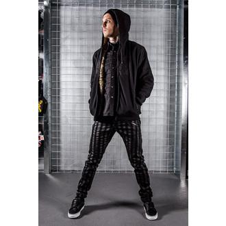 Herren Schuhe VANS - Chukka Low - Black Leather/Dark Grey, VANS