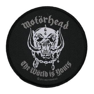 Aufnäher MOTÖRHEAD - THE WORLD IS YOURS - RAZAMATAZ, RAZAMATAZ, Motörhead
