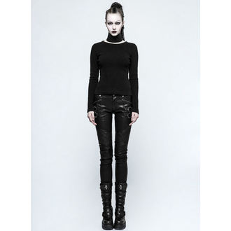 Damen Hose PUNK RAVE - K-297 Mantrap leather, PUNK RAVE