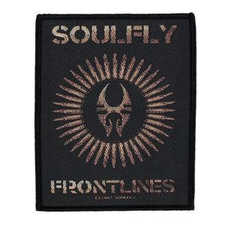 Aufnäher SOULFLY - FRONTLINES - RAZAMATAZ, RAZAMATAZ, Soulfly