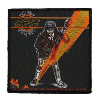 Aufnäher AC / DC - HIGH VOLTAGE - RAZAMATAZ, RAZAMATAZ, AC-DC