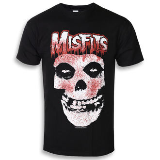 Herren T-Shirt Metal Misfits - Blood Drip Skull - ROCK OFF, ROCK OFF, Misfits