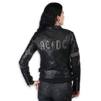 Damen Lederjacke AC-DC - MEGYN -, NNM, AC-DC