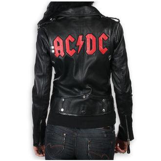 Damen Lederjacke AC-DC - LNTC Black -