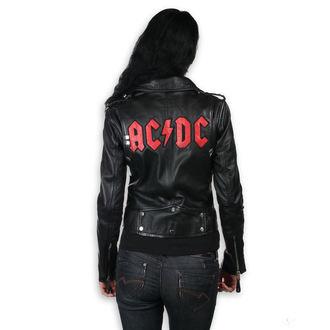 Damen Lederjacke AC-DC - LNTC Black -, NNM, AC-DC