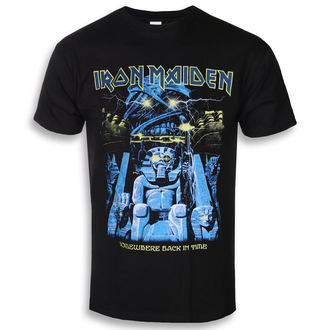 Herren T-Shirt Metal Iron Maiden - Back In Time Mummy - ROCK OFF, ROCK OFF, Iron Maiden