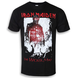 Herren T-Shirt Metal Iron Maiden - The Wicker Man Smoke - ROCK OFF, ROCK OFF, Iron Maiden