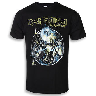 Herren T-Shirt Metal Iron Maiden - Live After Death - ROCK OFF