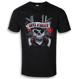 Herren T-Shirt Metal Guns N' Roses - Distressed Skull - ROCK OFF, ROCK OFF, Guns N' Roses