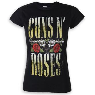 Damen T-Shirt Metal Guns N' Roses - Big Guns - ROCK OFF, ROCK OFF, Guns N' Roses