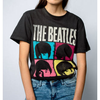 Herren T-Shirt THE BEATLES - HARD DAYS NIGHT - HOLZKOHLE - AMPLIFIED, AMPLIFIED, Beatles