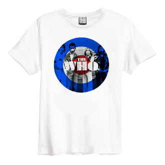 Herren T-Shirt Metal Who - WHT - AMPLIFIED, AMPLIFIED, Who