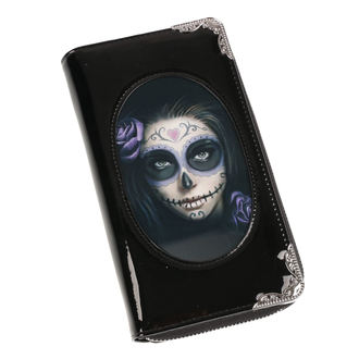 Brieftasche ANNE STOKES - Day Of The Dead - Schwarz, ANNE STOKES