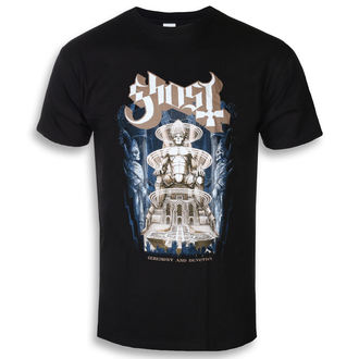 Herren T-Shirt Metal Ghost - Ceremony & Devotion - ROCK OFF, ROCK OFF, Ghost