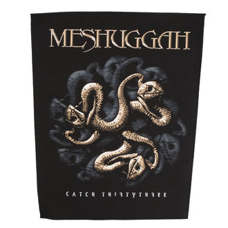 Aufnäher groß MESHUGGAH - CATCH 33 - RAZAMATAZ, RAZAMATAZ, Meshuggah