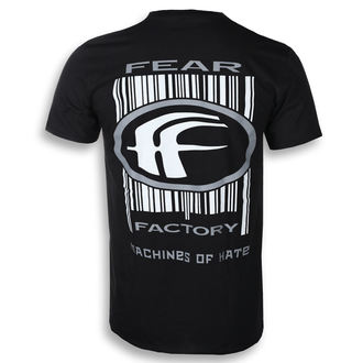 Herren T-Shirt Metal Fear Factory - MACHINES OF HATE - PLASTIC HEAD, PLASTIC HEAD, Fear Factory