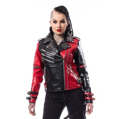 Damen Lederjacke - ASYLUM BIKER - HEARTLESS, HEARTLESS