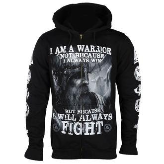 Herren Hoodie - I AM A WARRIOR - VICTORY OR VALHALLA, VICTORY OR VALHALLA