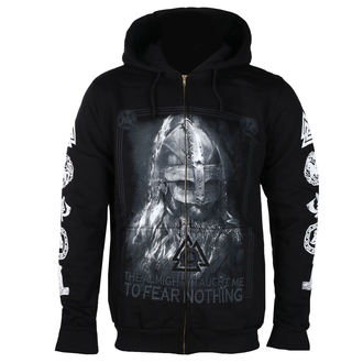 Herren Hoodie - THE ALMIGHTY TAUGHT ME TO FEAR NOTHING - VICTORY OR VALHALLA, VICTORY OR VALHALLA