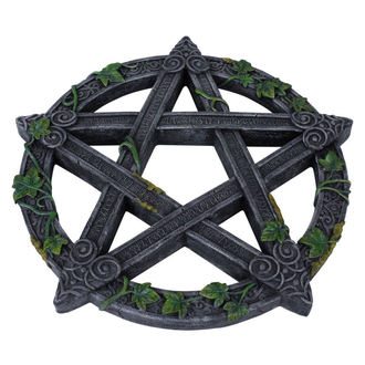 Wanddekoration Wiccan Pentagram Wall Plaque, NNM