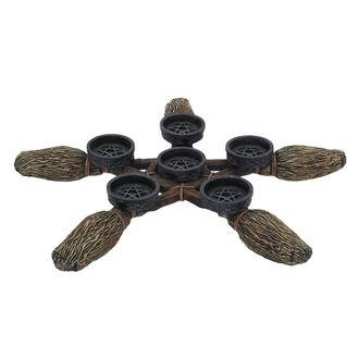 Kerzenhalter (Dekoration) Broomstick Pentagram, NNM