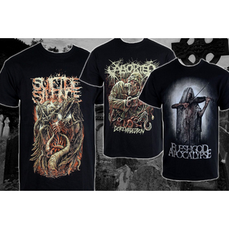 discounted Kollektion T-Shirts black/death